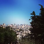 Gardeners' view seen on Reaching for San Francisco's Rooftops #walk